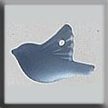 12051 - Small Bird Blue 11.25/7.8mm - 1 per pkg
